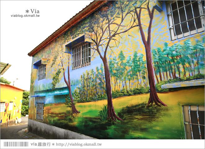 【關廟彩繪村】新光里彩繪村~在北寮老街裡散步‧遇見全台最藝術風味的彩繪村55