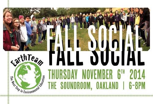 Fall Social Postcard FRONT