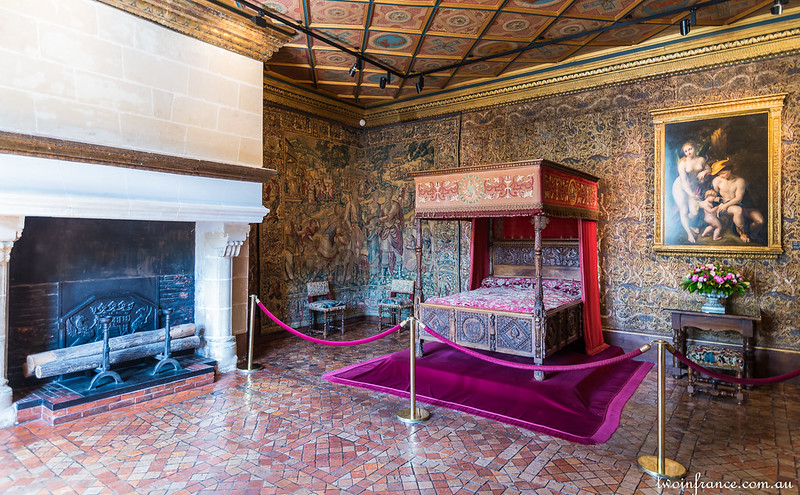 Catherine de Médici's Bedroom - Château de Chenonceau