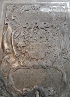 Imagen de Westerkerk cerca de Ámsterdam. church amsterdam floor carving medieval gravestone westerkerk 1650
