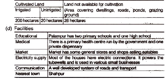 NCERT Solutions for Class 9th Social Science Economics Chapter 1 The Story of Village Palampur