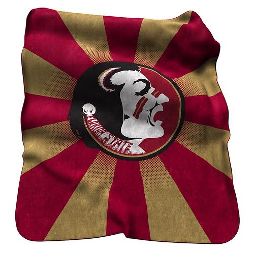 FSU Seminoles NCAA Raschel Blanket