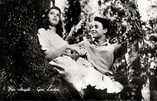 Pier Angeli and Gino Leurini in Domani è troppo tardi (1950)
