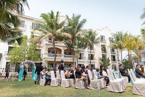 台南商務會館-一般戶外證婚儀式 (3)