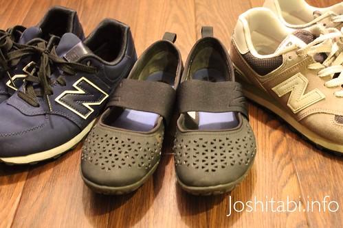 旅先でも歩きやすい、おしゃれな靴を考える