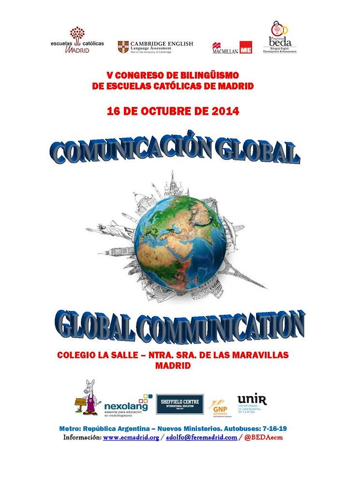 Cartel V Congreso BEDA 16-10-14
