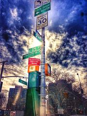 Streetphoto_color Urban Landscape NYC l at Harlem