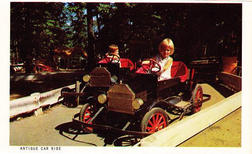 Vintage Enchanted Forest Souvenir Postcard Set