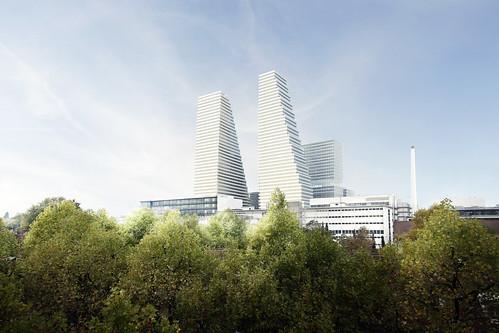 Roche Bauten bis 2025