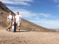 Kevin and me on the Amargosa Trail @ Nevada 10.2014