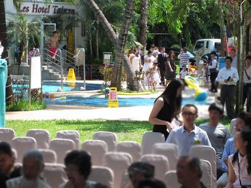 台南商務會館-基督教戶外證婚儀式 (8)