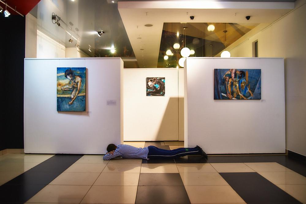 Выставка Ивана Дмитриева. Дверь Закрой! | Проспект
