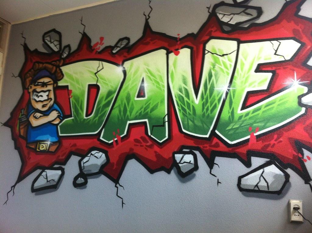 Behang Kinderkamer Stoer : Graffiti kinderkamer dave kinderkamer tienerkamer graffitiu flickr