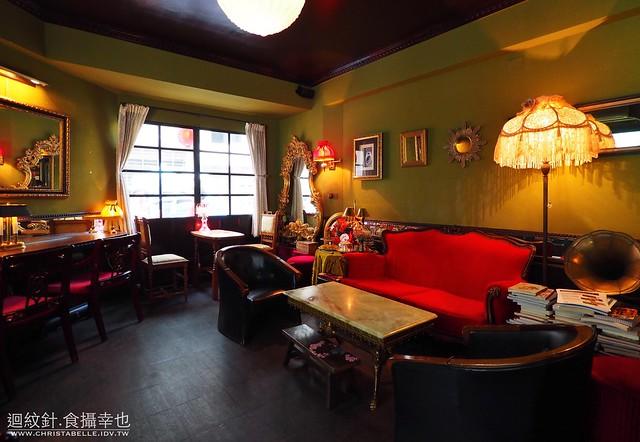 台北。秘氏咖啡