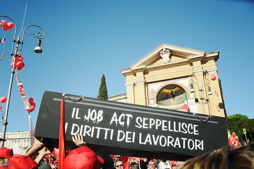 manifestazione nazionale CGIL 25 ottobre 2014