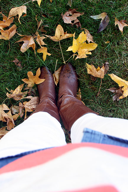 Boots-and-Leaves