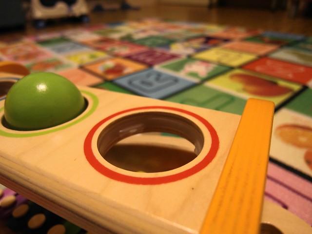 球檯上的洞口都有做這個小設計,可以卡住球@HAPE愛傑卡音樂饗宴