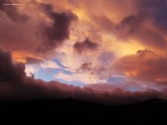 夕焼けの雲 - Nuvole al tramonto