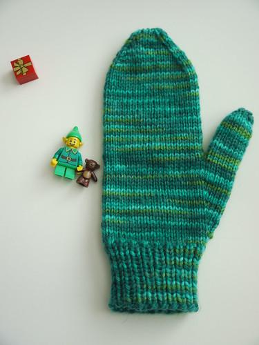 Just Thumbkin mitten