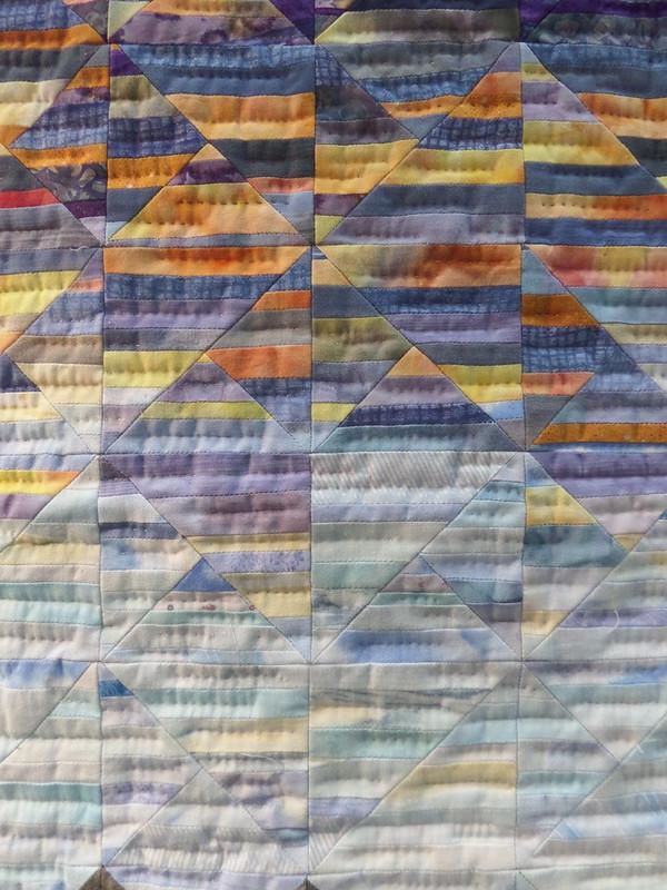 Detail from Quilt by Kiyoko Shimada