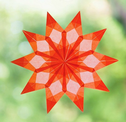 Window Star Paper Craft Kit - Helen Hiebert