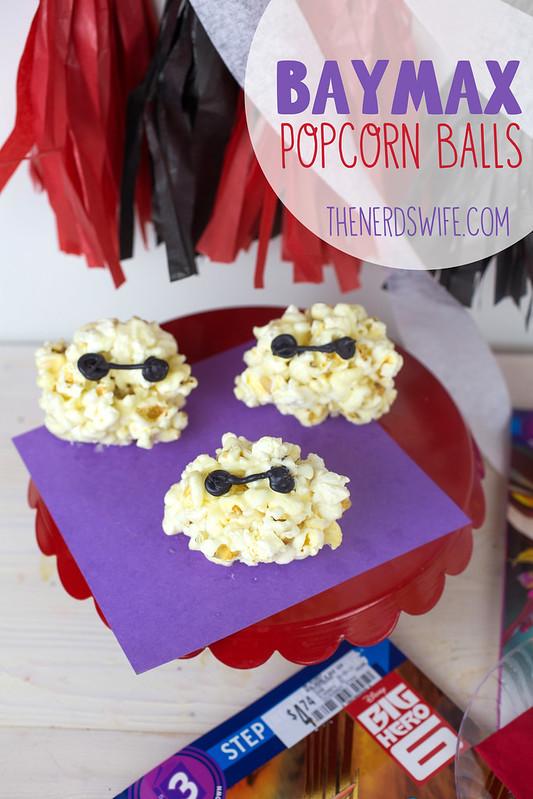 Big Hero 6 Baymax Popcorn Balls