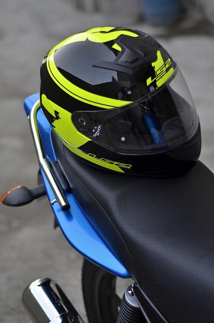 My new Yamaha YBR 125 Blue *jazzy77* - 18855322705 4c90a28d50 z