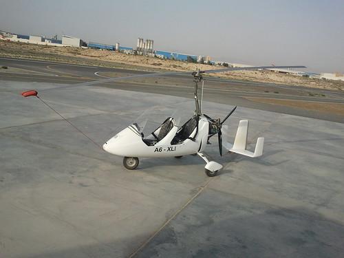 gyro gyrocopter aircraft lsa jazirah aviation club jazirahaviationclub rasalkhaimah uae pilot fly flying rotax mtogyro