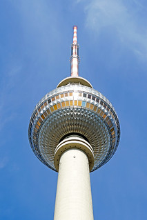 Image of Fernsehturm Berlin near Mitte. germany berlin building sony a6300 ilce6300 18200mm 1650mm mirrorless free freepicture archer10 dennis jarvis dennisgjarvis dennisjarvis iamcanadian novascotia canada fernsehturm telephone tower globus tour