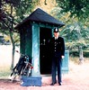 Circa 1986/1987 West Box, Balmoral Castle, Crathie, By Ballater. Aberdeenshire Scotland, UK. London Metropolitan Police Constable Attached To The Royalty Protection Department.