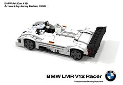 BMW LMR V12 Racer - Art Car #15 - Jenny Holzer (1999)