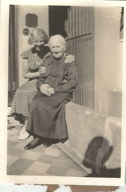2 generations of lovely women