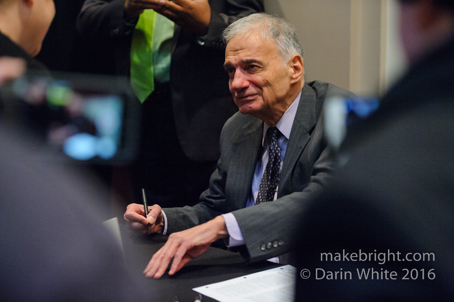 Ralph Nader in Brantford - Nov2016 045