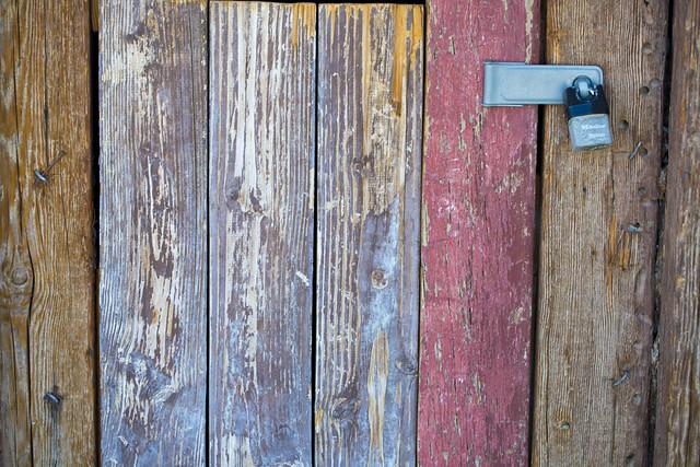 The Old Mine Door