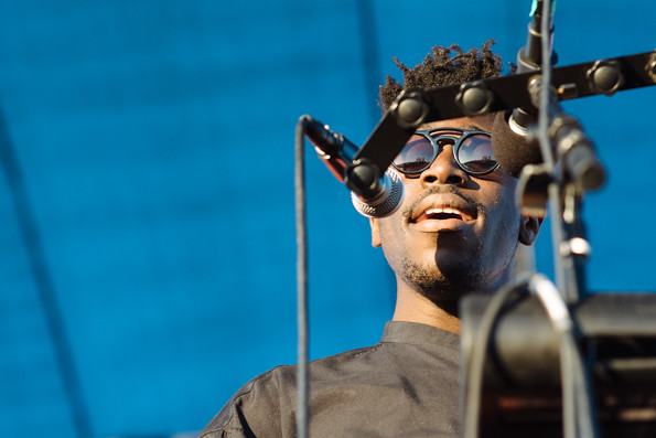 Moses Sumney @ Way Over Yonder 2014, Friday