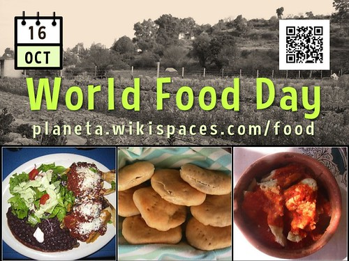 October 16 is World Food Day @FAOWFD