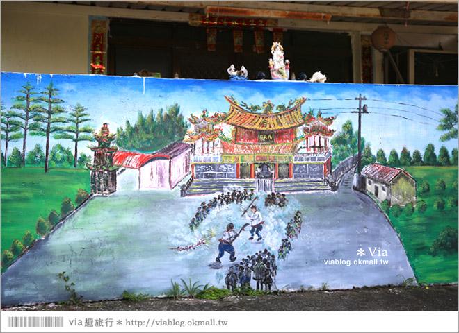 【關廟彩繪村】新光里彩繪村~在北寮老街裡散步‧遇見全台最藝術風味的彩繪村32