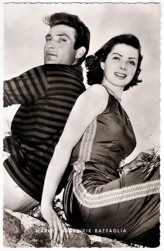 Rik Battaglia and Margit Nünke in I fidanzati della morte (1957)