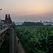 Sunset from Long Biên Bridge I by lars1387