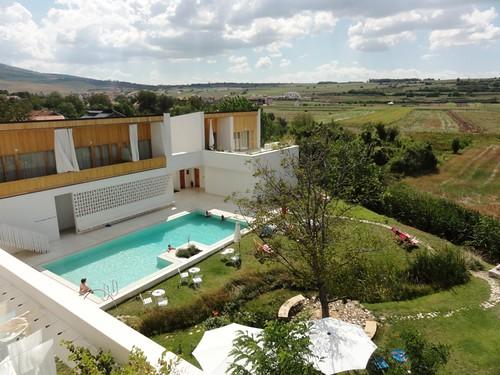 pool garden hotel view pristina prishtina gracanica