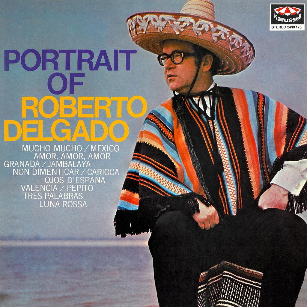 Roberto Delgado - Portrait of Roberto Delgado