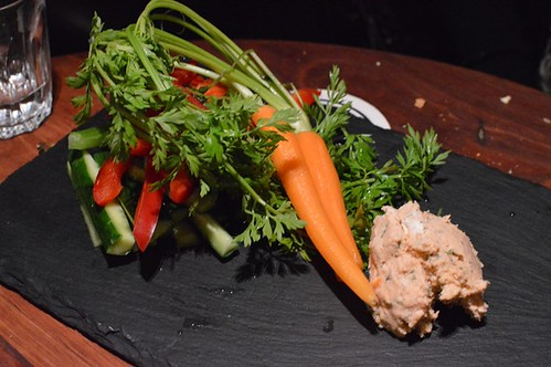 Smoked ocean trout pate