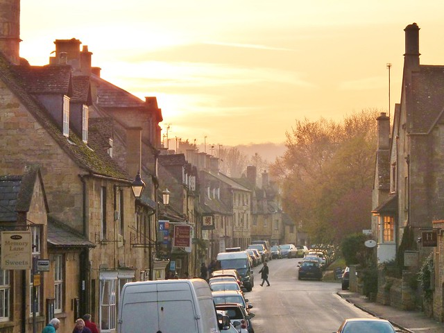 Chipping Campden at dusk