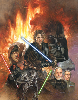 Rise of the Sith by Dave Dorman