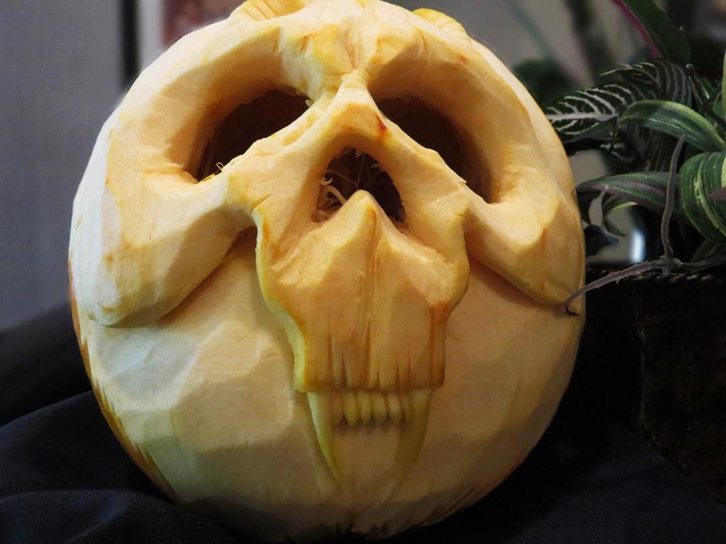 Halloween pumpkin in Atlantic City
