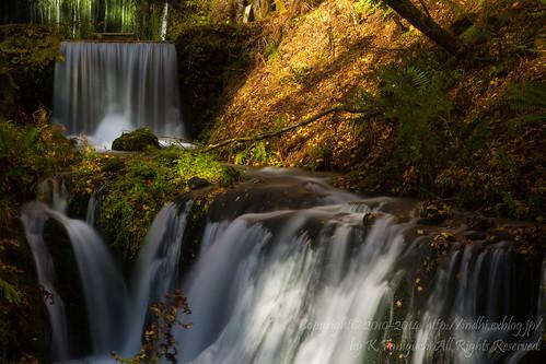 白糸の滝 三段