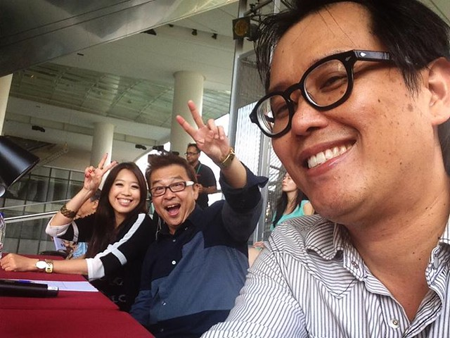 Judges Danny Loong Clement Chow Me