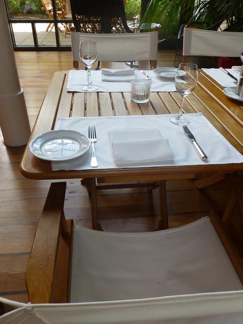 Victoria Jungfrau ESPA lunch area