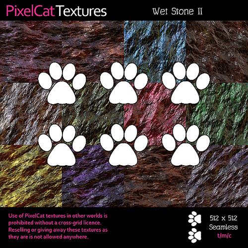 PixelCat Textures - Wet Stone II