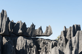 Madagascar Big Tsingy Rhino Rock